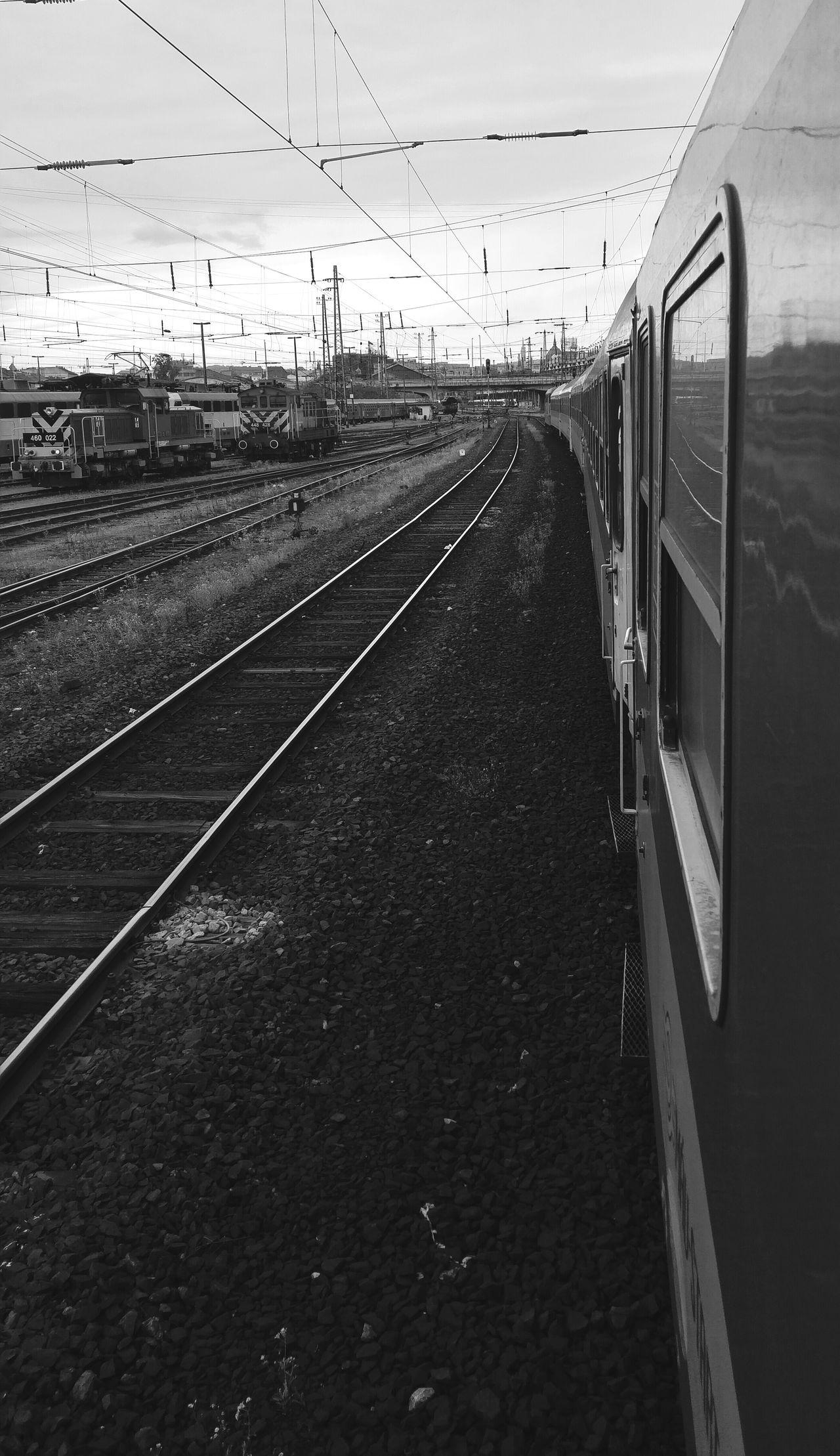 Railwaystation Nyugati Railway Train Blackandwhite Black & White B&w Black&white Blackandwhite Photography