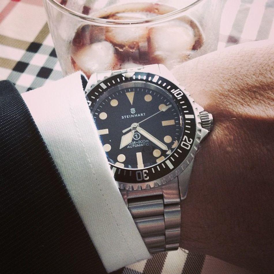 Steinhart Oceanvintagemilitary Ovm Watch Watches Watchporn OVMCrew Wis WUS Watchuseek Swisswatch Eta