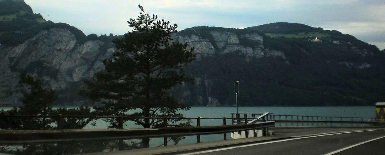 Traveling Travel By Car Mountain Lake Swiss Alps Swiss Mountains Swissalps Swiss Landscape Swiss Photos Mountains And Lake