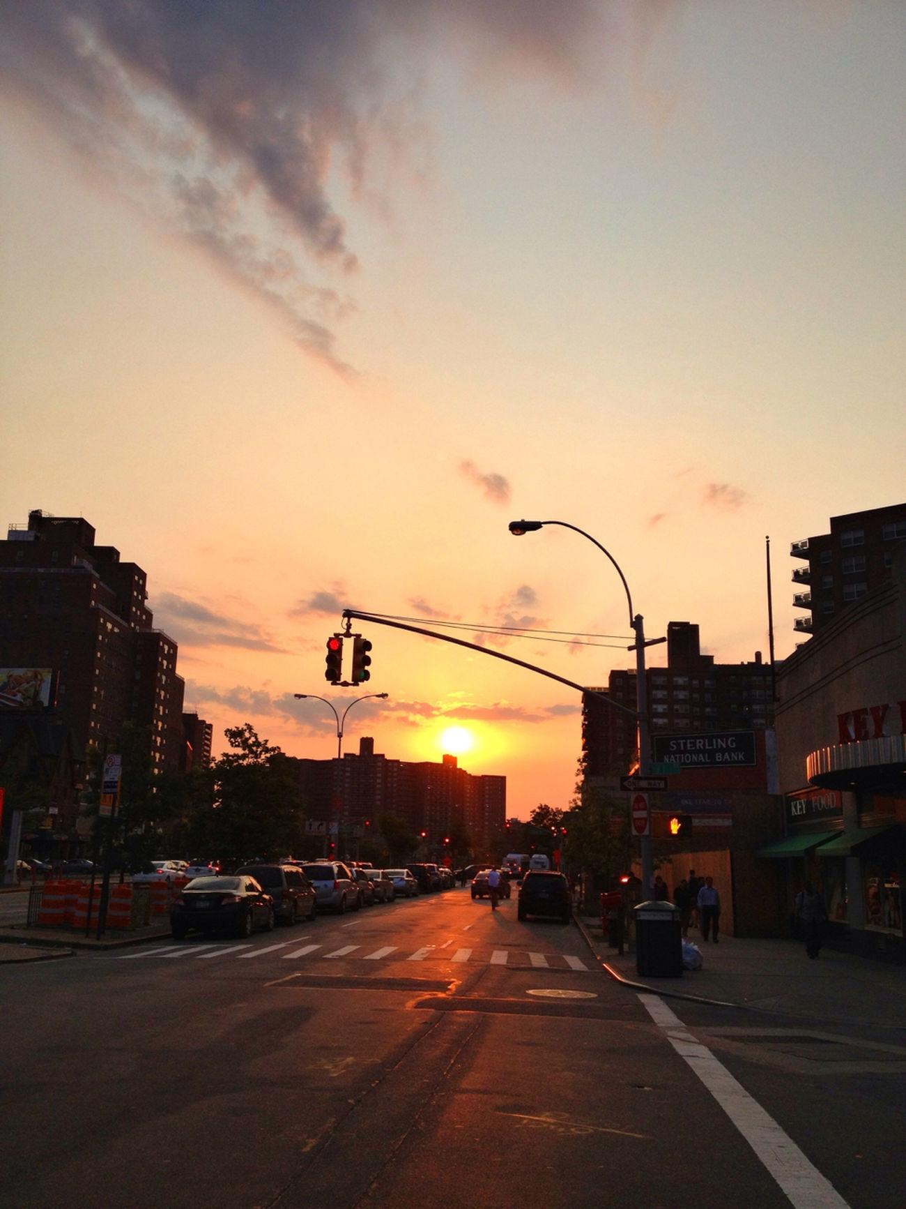 Sunset On Queens Blvd