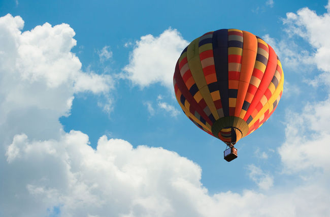 Hot air balloon in the sky Balloon Balloons Hot Air Balloon Hotairballoons Sky Skyandclouds  Clouds Cloud Sports Sport