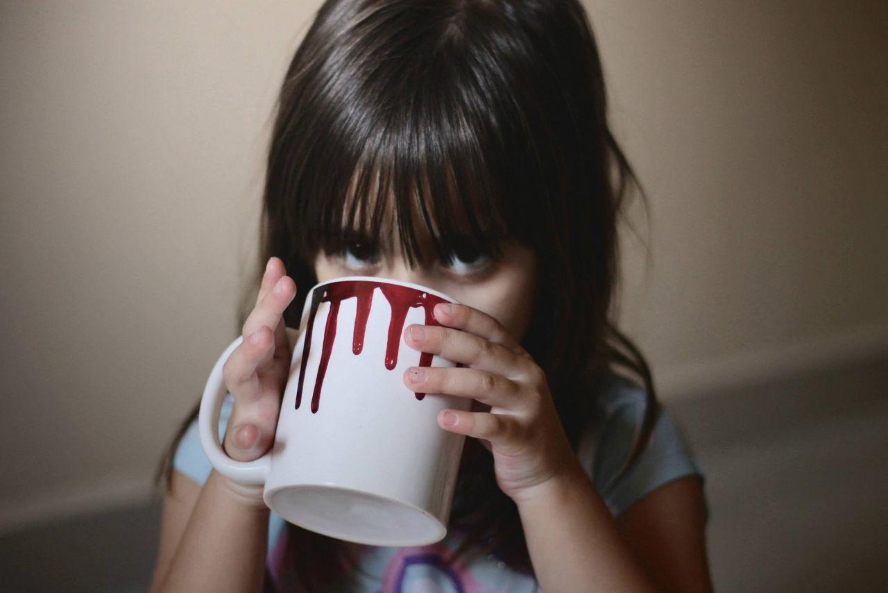 Beautiful stock photos of cup, Bangs, Black Hair, Brazil, Childhood