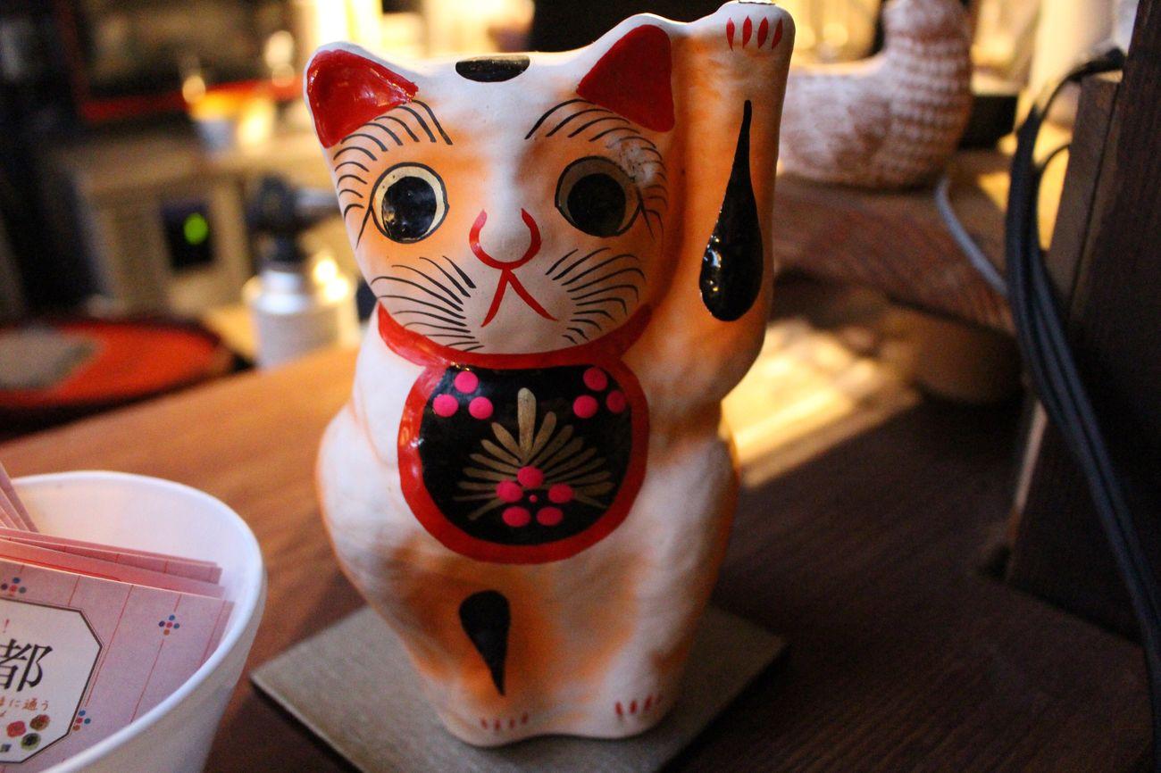 一眼レフ Canon 招き猫 京都市  Cafe