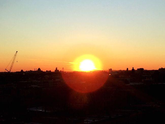 Sun Set IPhoneography Photography Brooklyn Sky Sunset