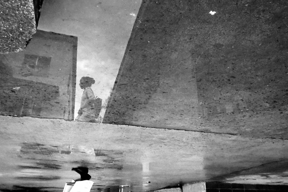 After the rain. Architecture Building Exterior Built Structure City Life Day EyeEm EyeEm Pampanga Eyeem Philippines Fotobythebeard Outdoors Reflection Road Sky Streetphoto_bw Tall Water