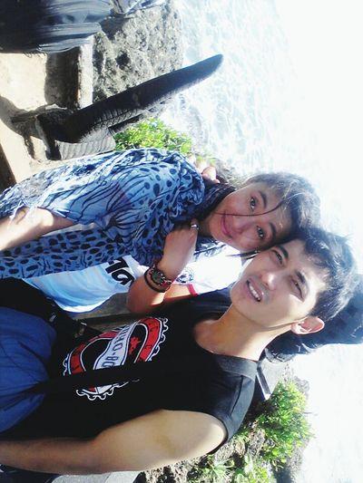 I Love You Memory Enjoying Life Pantai Ngobaran Gunung Kidul, Yogyakarta