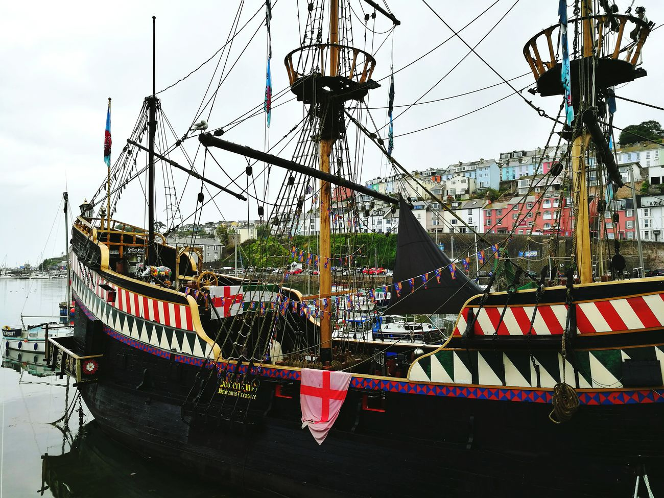Golden Hind, Brixham History Golden Hind Brixham  Brixhamharbour Seaside Pirate Pirateship  Culture