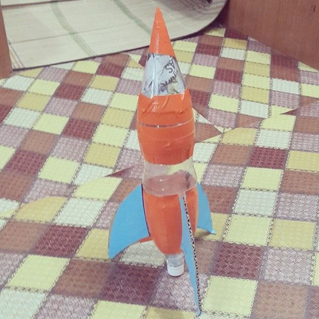 The Capollo of @msuhaimibohari & @amirulbassan presents Vaunt 2112, an aerodynamic water rocket invention. We gonna blast the horizon out on 25th December. Kmns