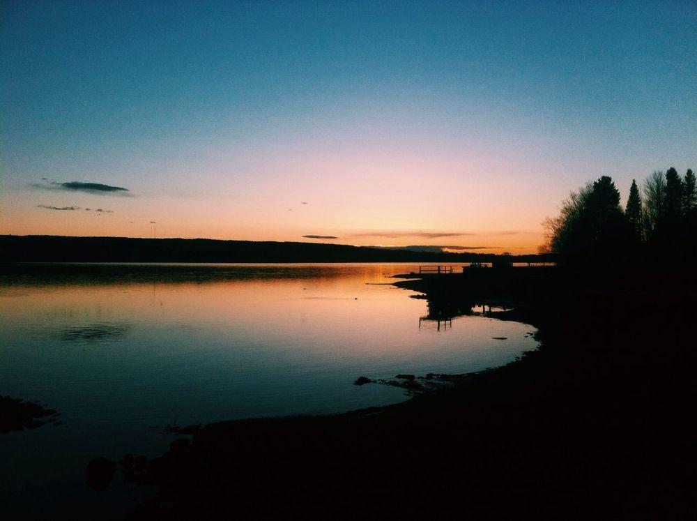östersund Storsjön Sunset