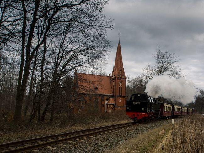 Take me to church Olympus EyeEm Best Shots - Nature Heiligendamm Wanderlust Railway Church Train Showcase: February Kirche Baltic Sea The Tourist EyeEm Deutschland