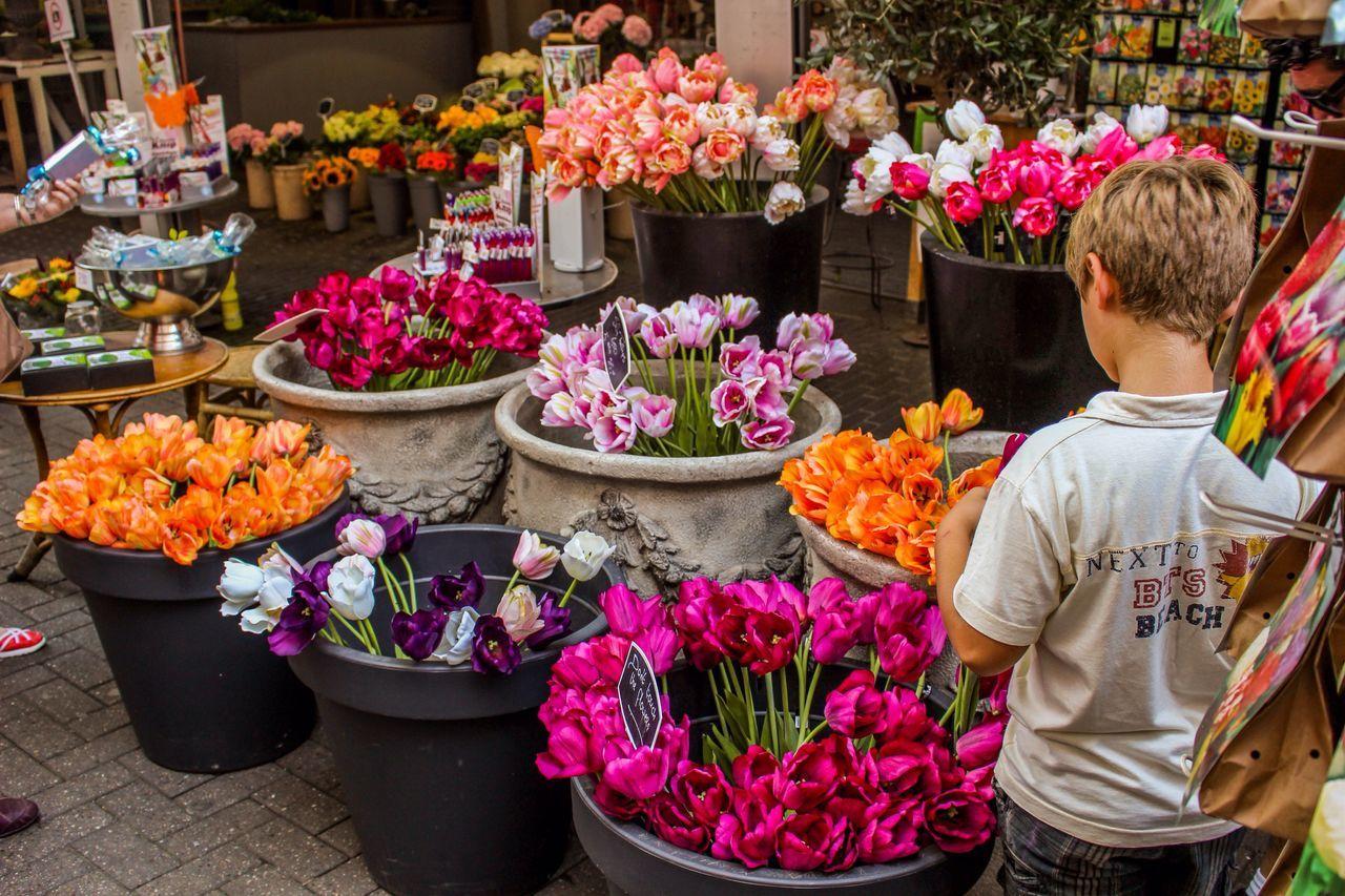 Thoughts💭 Flower Florist Market Travel Flower Shop Flower Market Child Childhood Amsterdam First Eyeem Photo