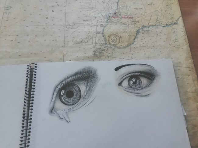 Eyes from ma mind Check This Out Drawing ArtWork Art, Drawing, Creativity Eyes Getting Inspired Taking Photos Improving