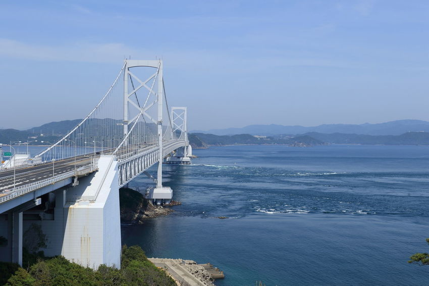 Beach Beauty In Nature Bridge Bridge - Man Made Structure Business Finance And Industry Day Japan Naruto Nature No People Outdoors Sea Sky Water 鳴門