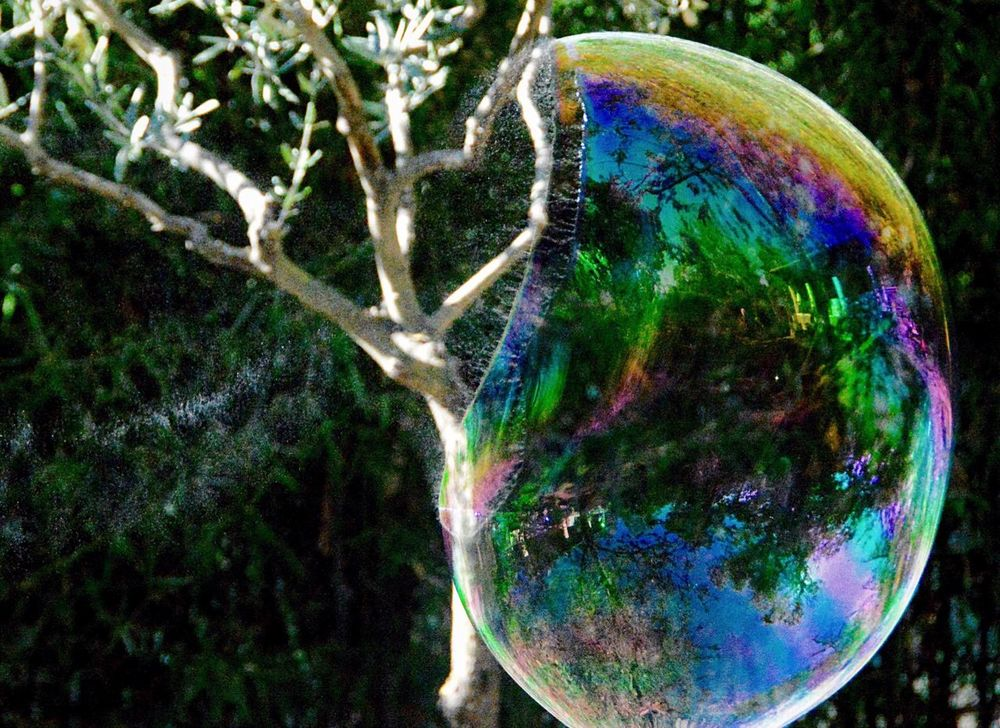 Exploding Soap Bubble Soap Bubbles Bubble Eyeemphoto #the Magic Mission