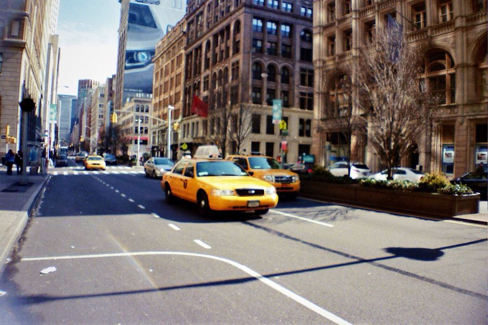 Possibly Madison Ave Upper West Side Yellow Cabs Streetphotography