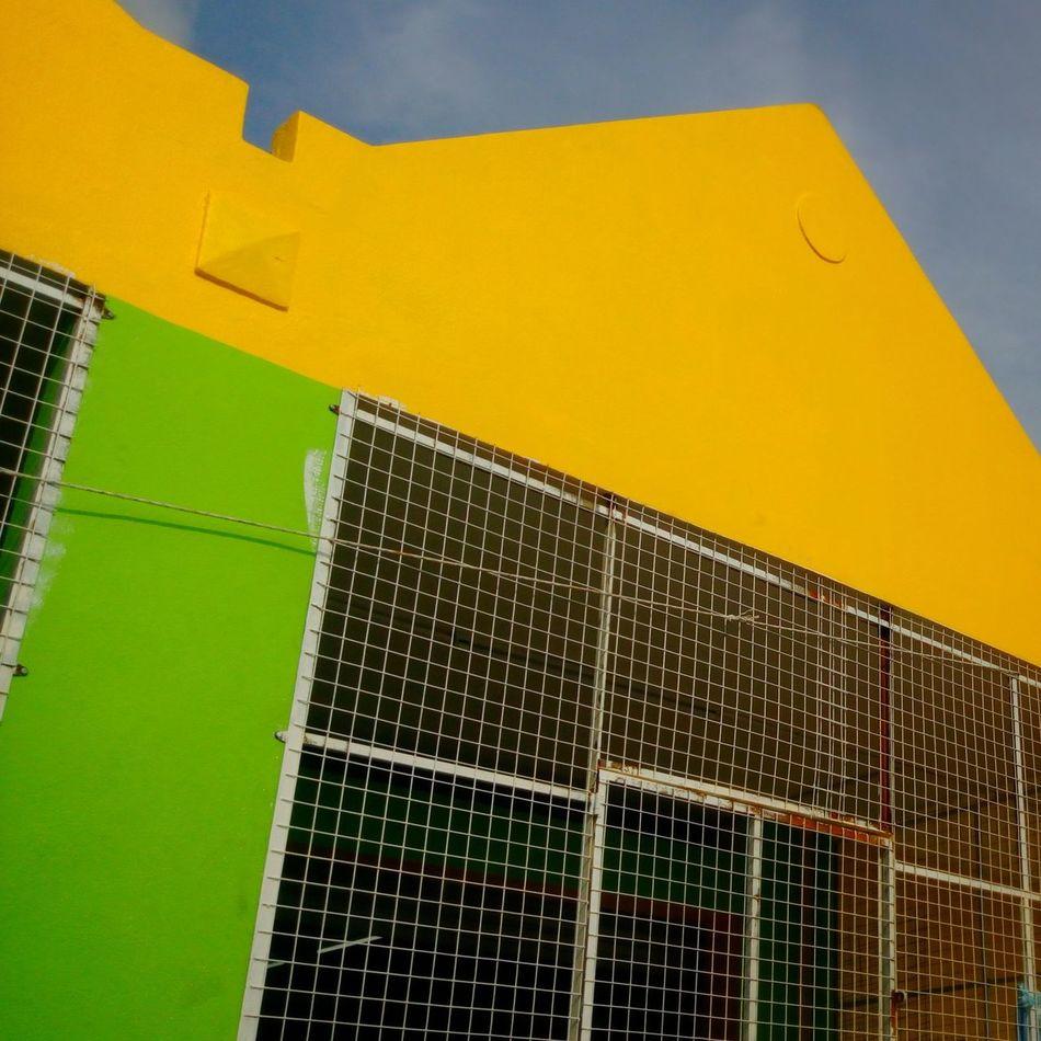 Yellow Multi Colored Architecture No People Day Outdoors Malaysia Photography Smallshop Perak, Malaysia Supermarket