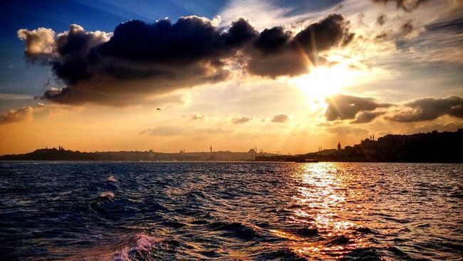Sunset Sea Cloud - Sky Sun Sky Cloud Travel Destinations