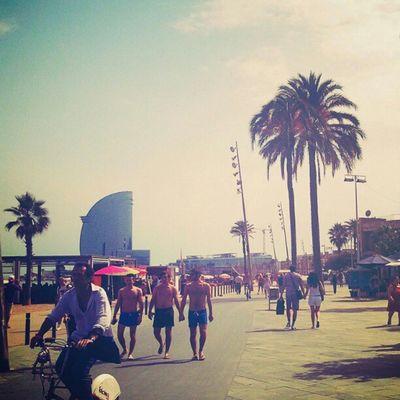that is #Barcelona . it smells like california spirit... Barcelona