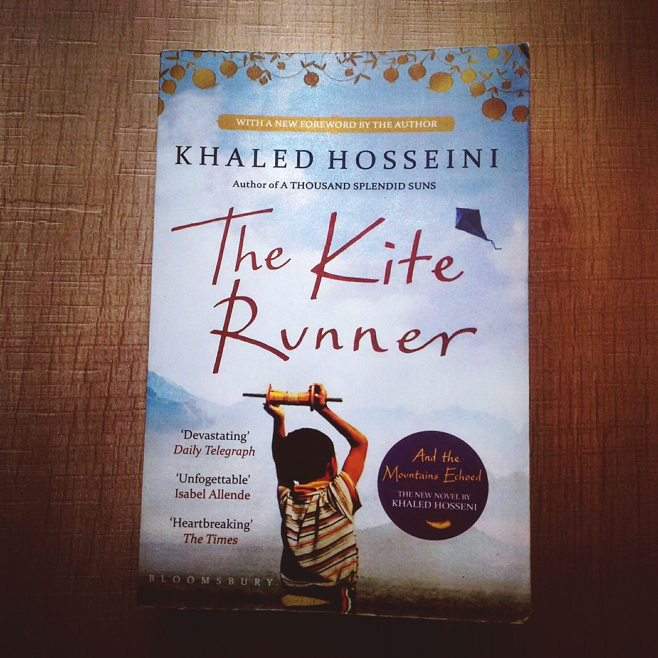 Twist of fate...!!! Khaledhosseini The Kite Runner
