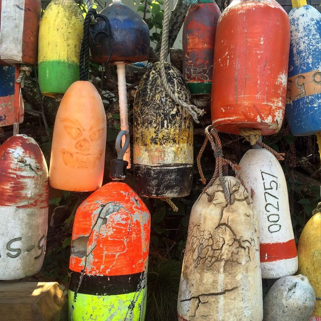 Beach Colors Maritime Buoys Old Buoys Harbour Tools