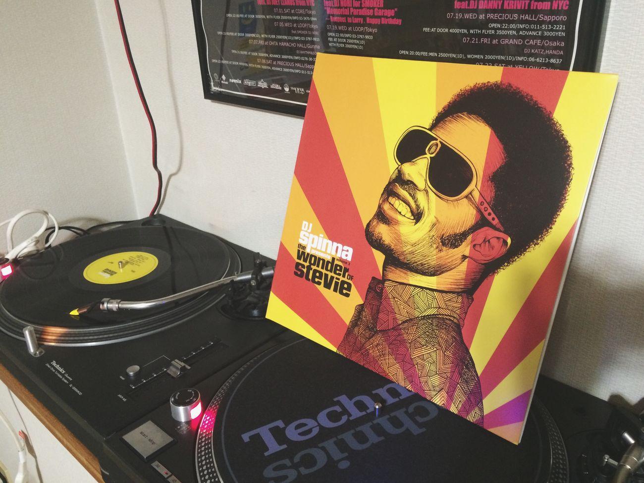 Vinyl Vinyl Records Records Di Spinna Good Music Stevie Wonder Technics Nice Turntable