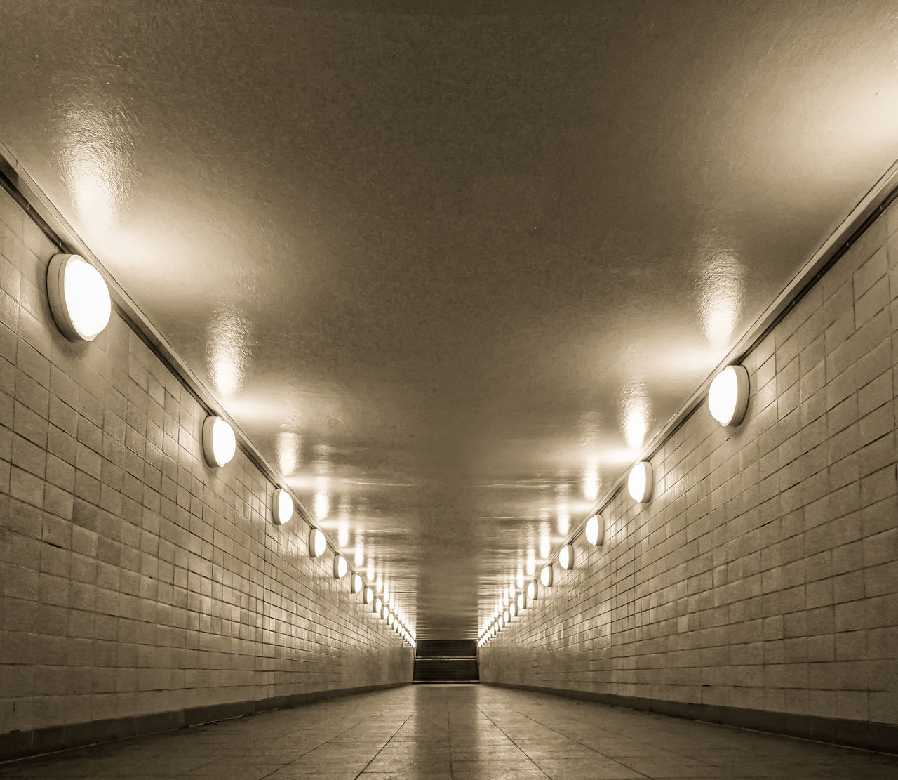 Architecture Ceiling Ceiling Light  Electric Light Empty Fußgängertunnel Illuminated Indoors  Light Lighting Equipment Lit No People No People, Pedestrian Tunnel Pedestrian Walkway Subway The Way Forward Tunnel Underpass