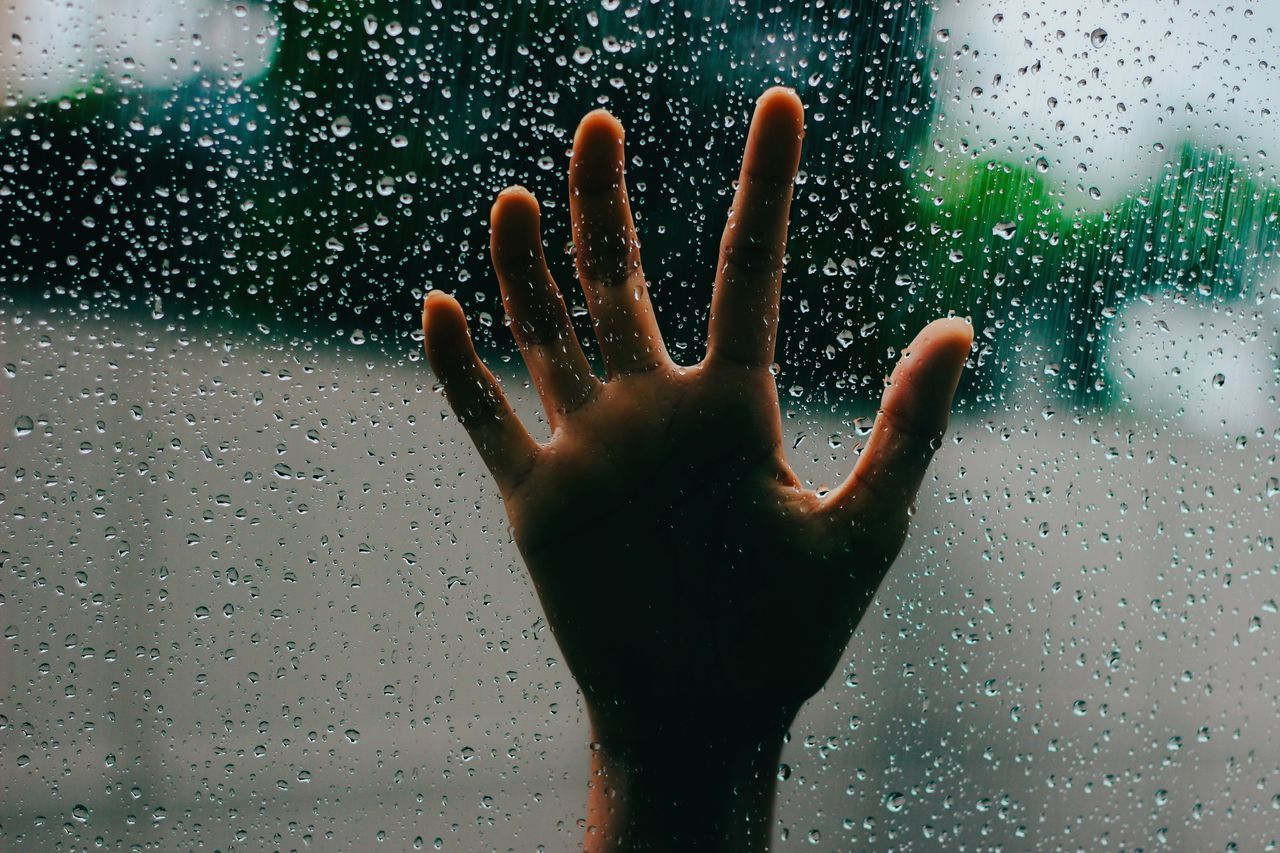 Beautiful stock photos of rain, Day, Drop, Focus On Foreground, Glass