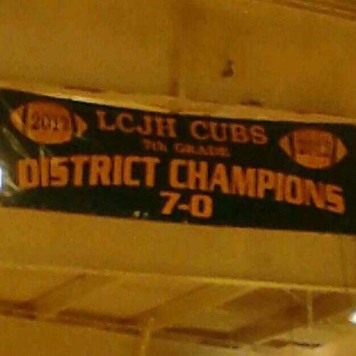 #lcjhcubs #undefeated