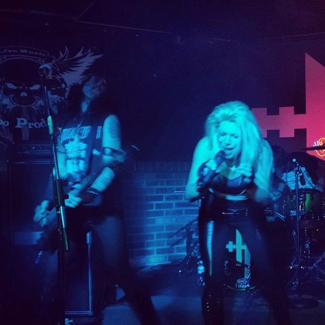Hessler in Tempe, AZ, 11-4-13. Hesslerofficial Arizona Bigfishpub Live metal kickassshow