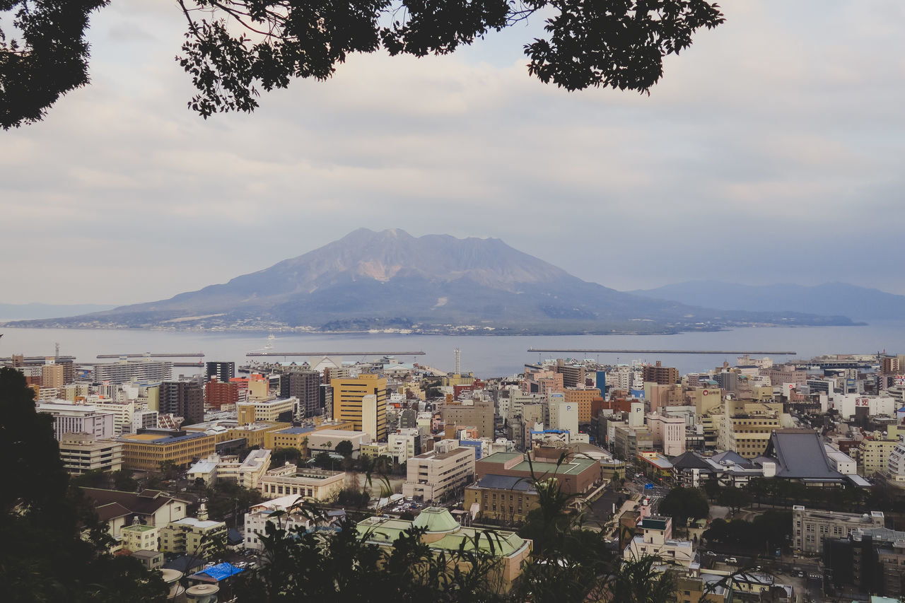Architecture Built Structure City Cityscape Day Japan KYUSHU Landscape Lanscape Photography Mountain Nature No People Outdoors Scenics Sea Sky Tranquility Tree