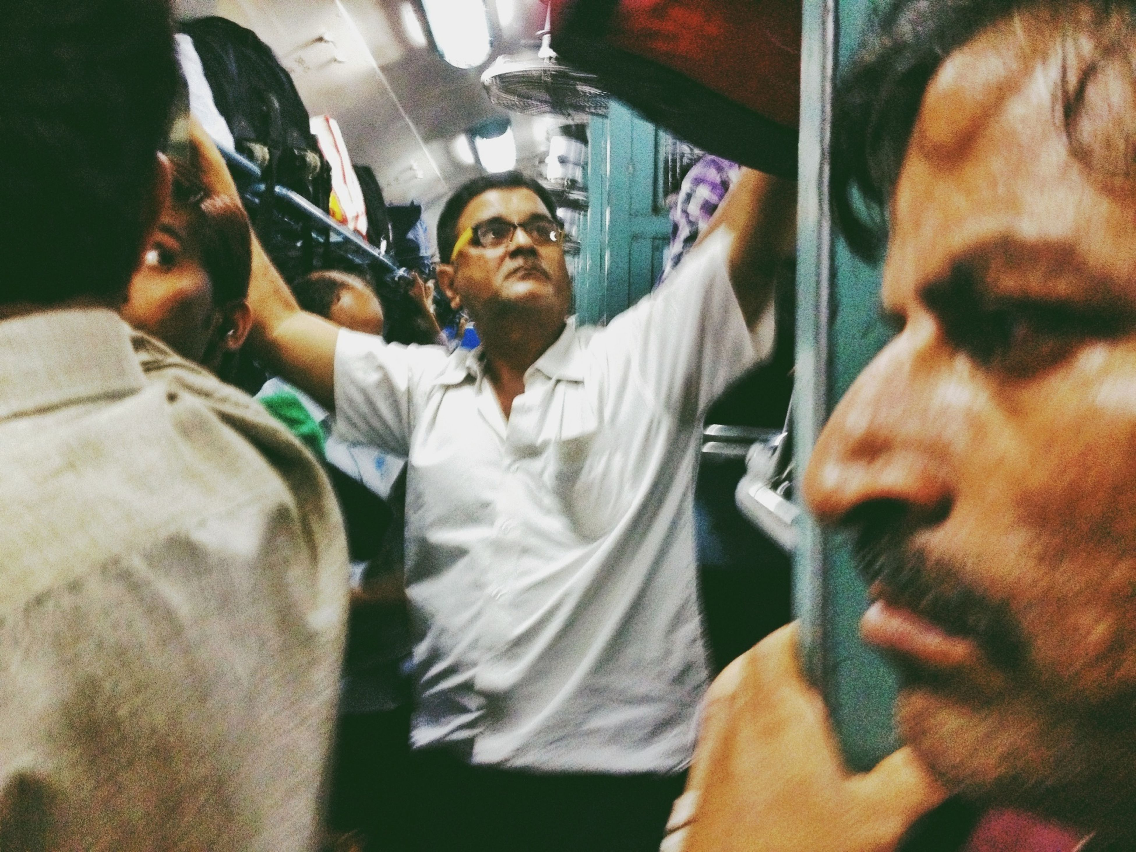 """""""General Compartment"""" from an ongoing series """"Don't Panic!"""" (Travails Of Indian Train Travel)"""