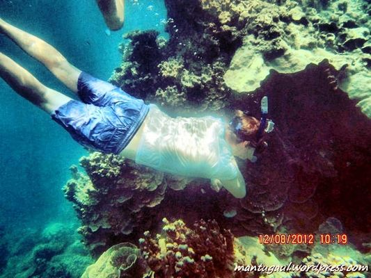 Taking Photos at Pulau Karimun Jawa by Mantugaul