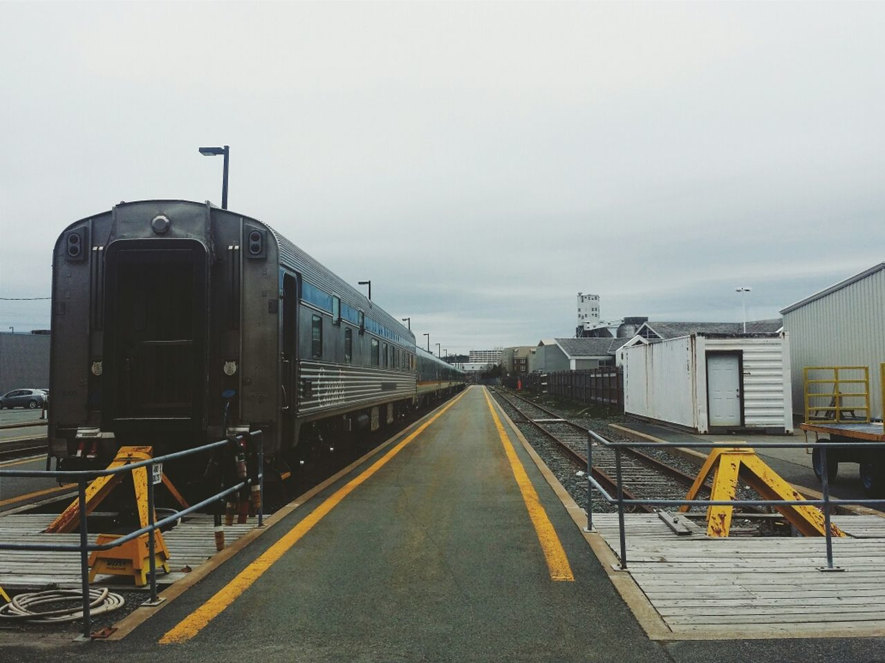 Halifax Trainstation Train Film