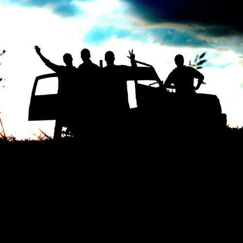Friends Jeep Summer Volfartice czech clouds