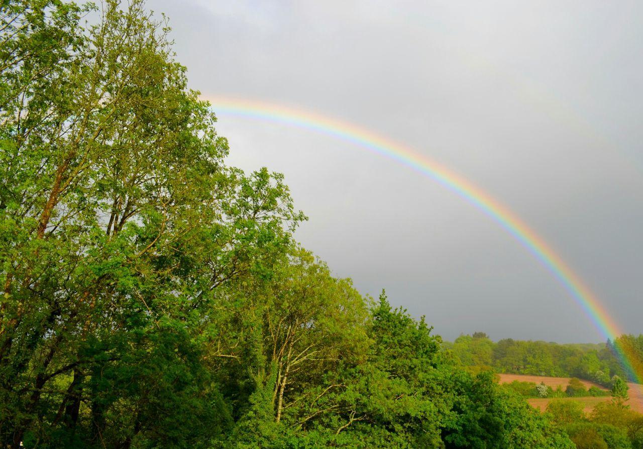 Arc-en-ciel  Couleurs Beautiful Nature Hello World Wonderful