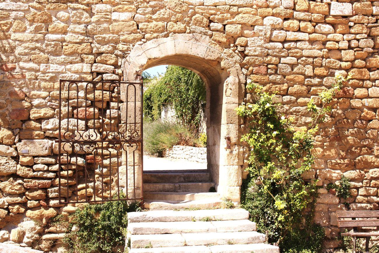 Provence Doorway Lights Drôme La Garde Adhémar