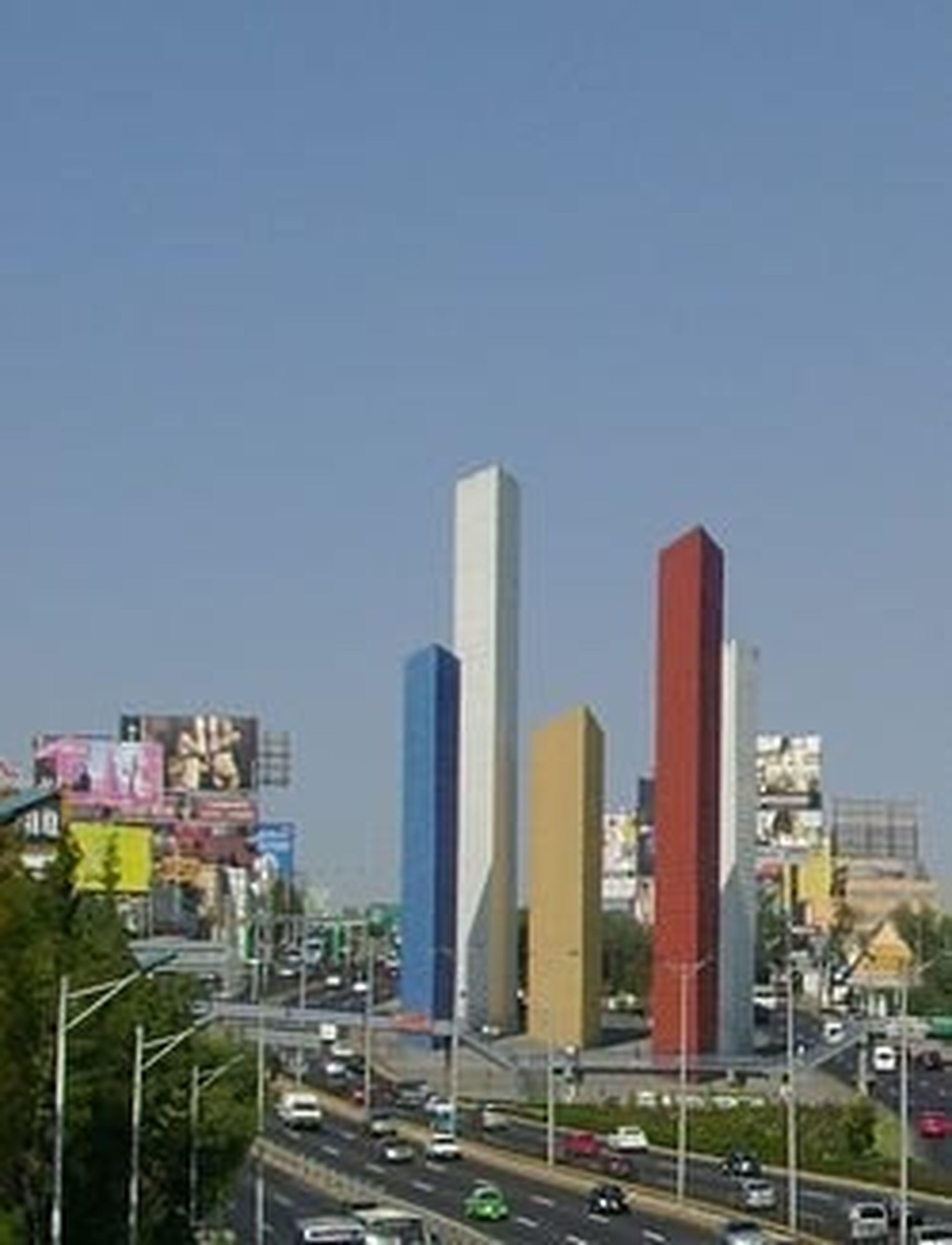 Ciudad de México satélite Naucalpan estado D.F