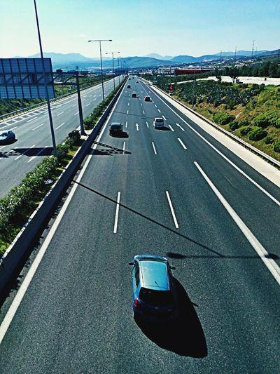 Motorway Highway Greece Attiki-odos