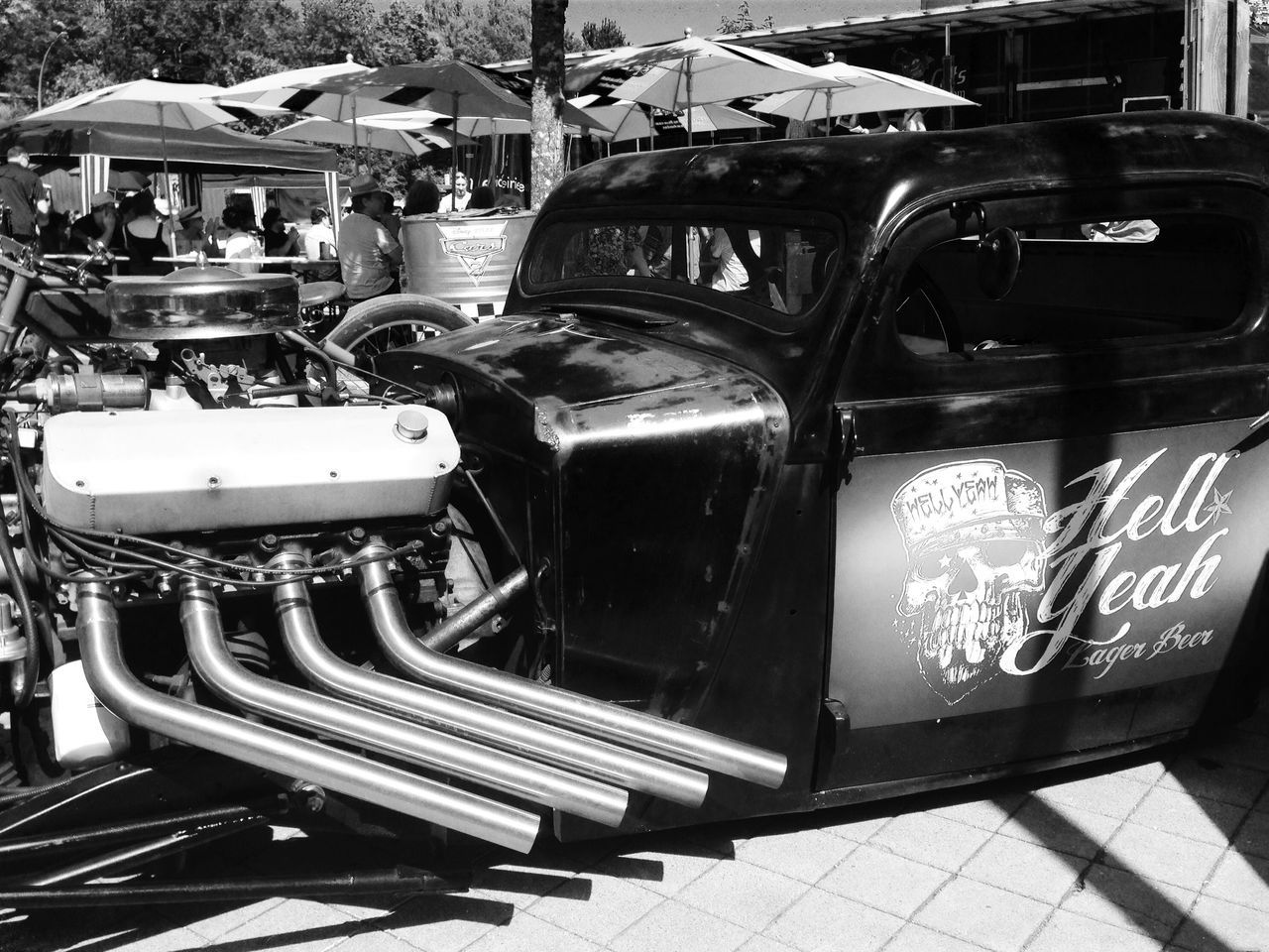 PF's Hot Rod Biertempel Classic Car Hot Rod Classic Hot Rods Jail-House US Car US Cars V8 Engine