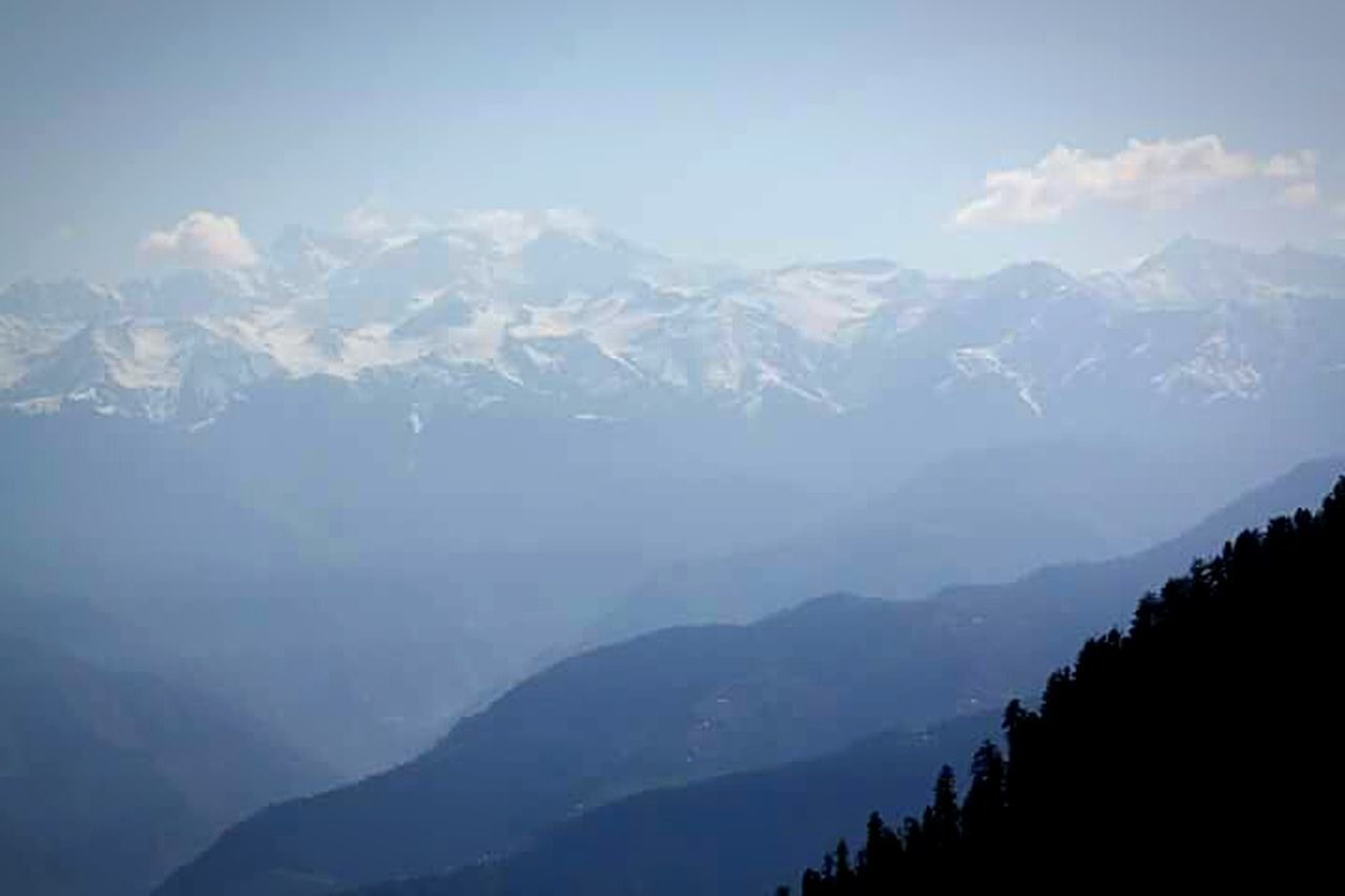 Mountain love from Dalhousie, India Nature Naturelovers One With Nature Mountain Mountains Mountain View View From The Top Mountains And Valleys Blue Blue Sky Snowcapped Mountain Trekking EyeEm Nature Lover EyeEm Best Shots - Nature Eyeem Market EyeEm Market ©