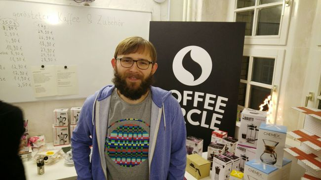 Peter In Paradise im @coffeecircle HQ. Filter Coffee Equipment Connoisseur EyeEm X Coffee Circle