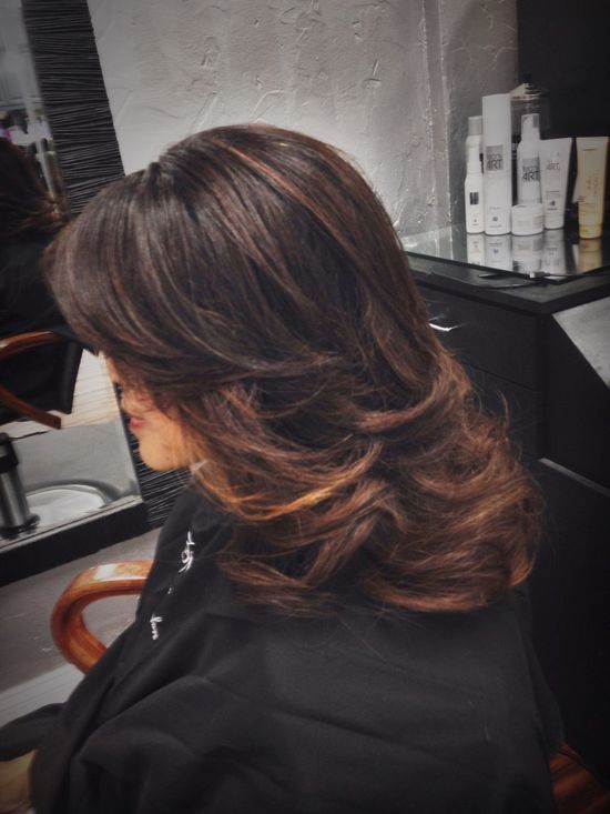Beautiful Color Specialist Mastering Balayage & Blowout @znevaehsalon Check This Out Hair Eye4photography # Photooftheday Color Specialist Z Nevaeh Salon L'Oreal Professionnel Knoxvillesalon Hairstyle Haircolor Hairtrends
