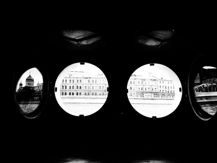 Moscow Ship Brusov Church Window Circles Monochrome Black And White Black & White Shades Of Grey The OO Mission Welcome To Black