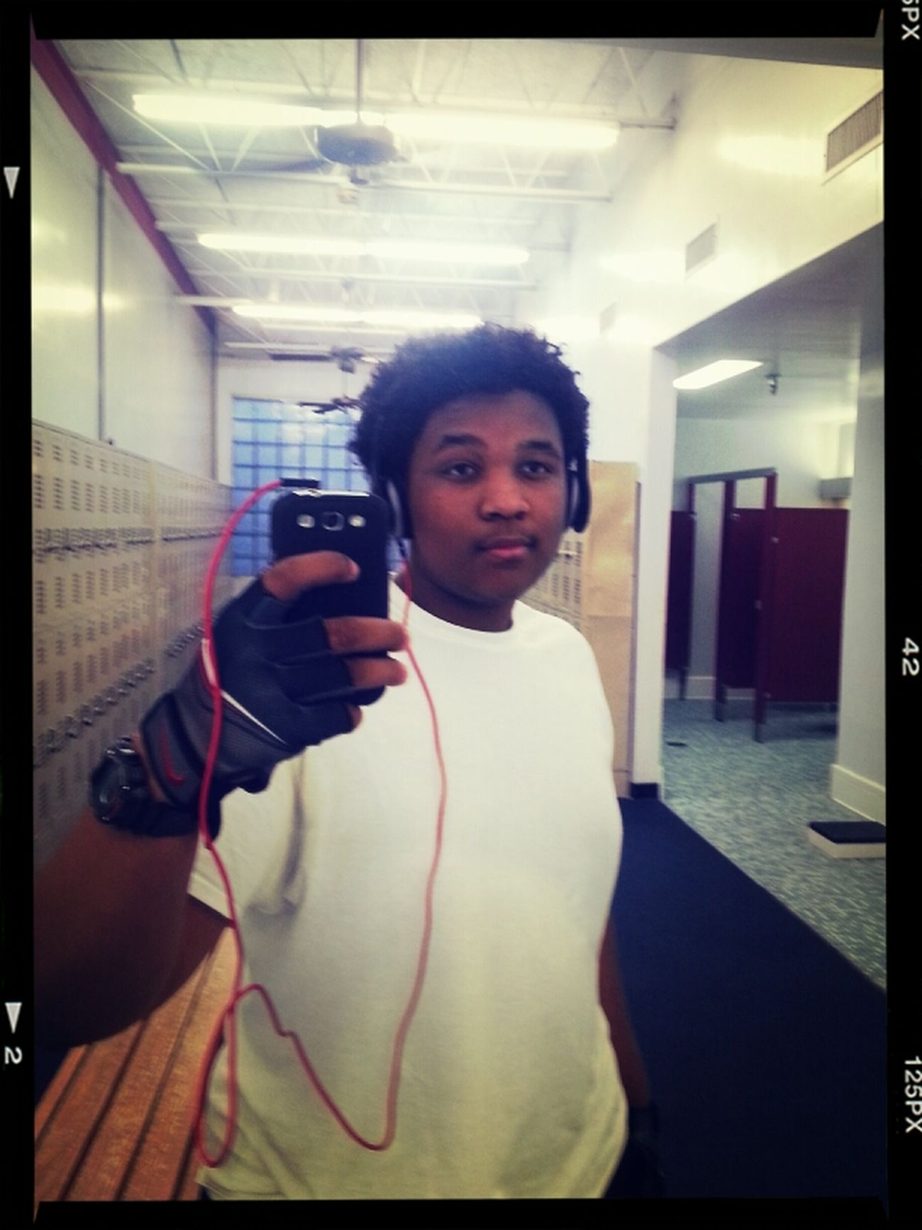 Me At 3 Befor My Workout