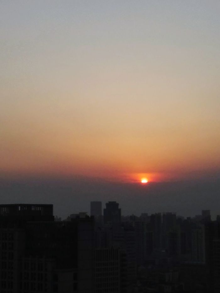 Overworked Sunset Clouds And Sky Discover Shanghai