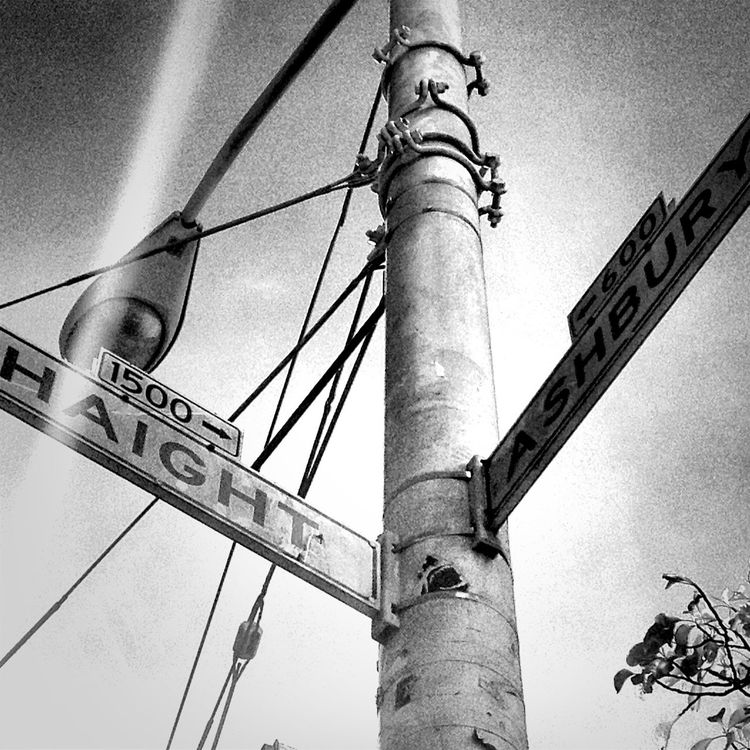 blackandwhite at Haight/Ashbury by Nocino