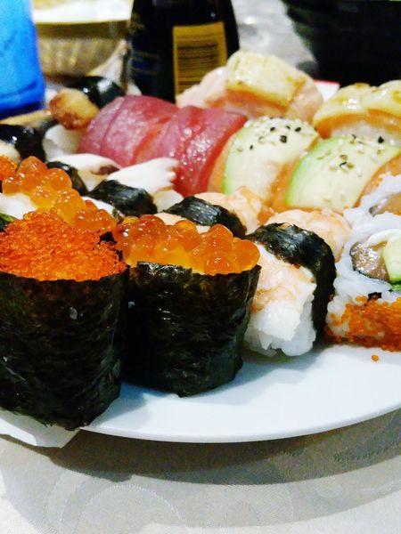 Enjoying A Meal Taking Photos SPAIN Enjoying Life Sushi Time Food Foodporn