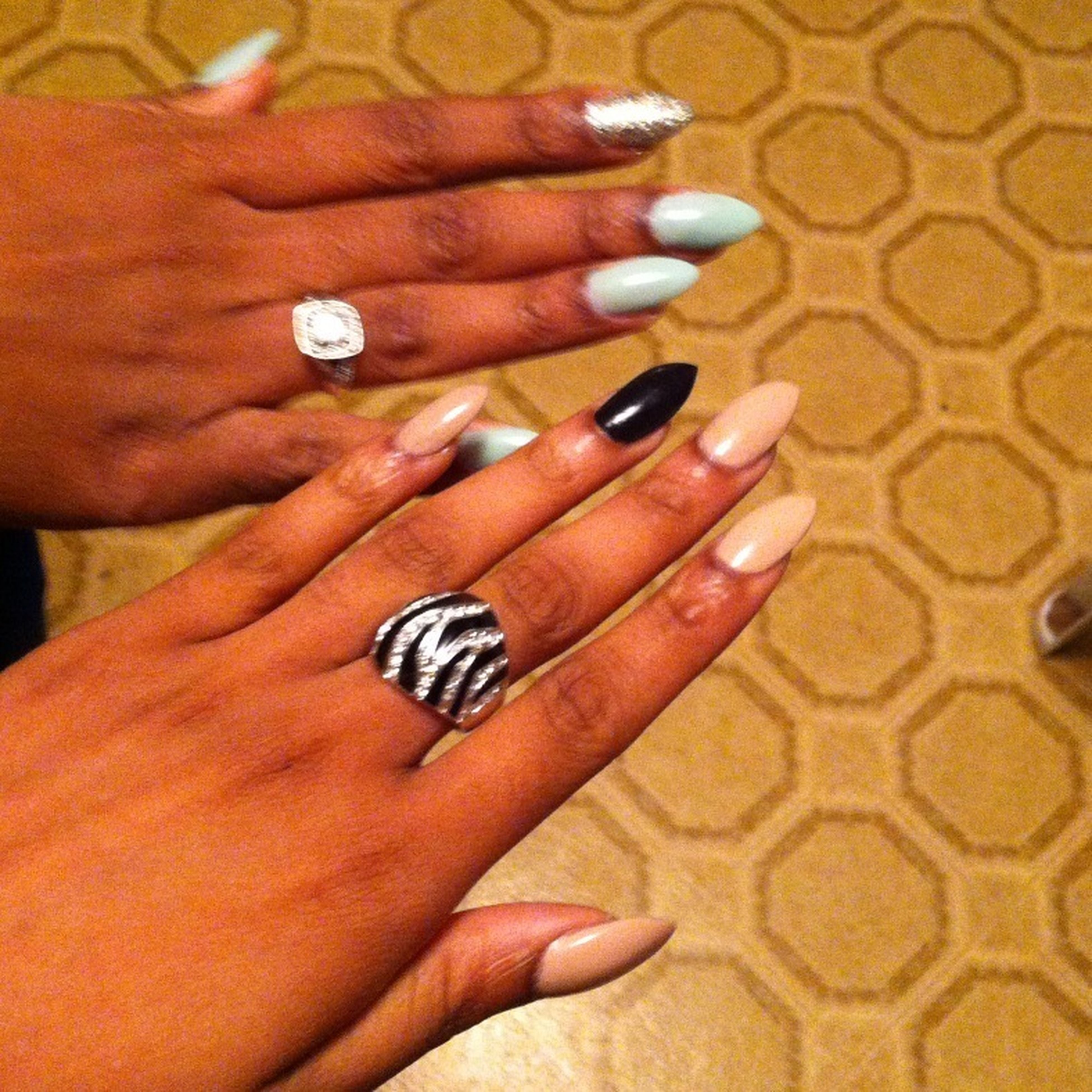 Destiny And I Went To The Nail Shop Today