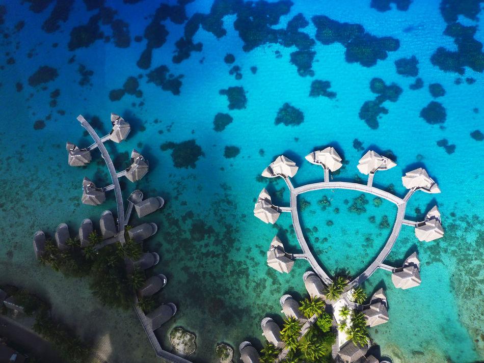 2008 Exploration Horizon Over Water Nature Scuba Diving Sea Sea Life Tahiti UnderSea Underwater Villa Water タヒチ ホテル 海