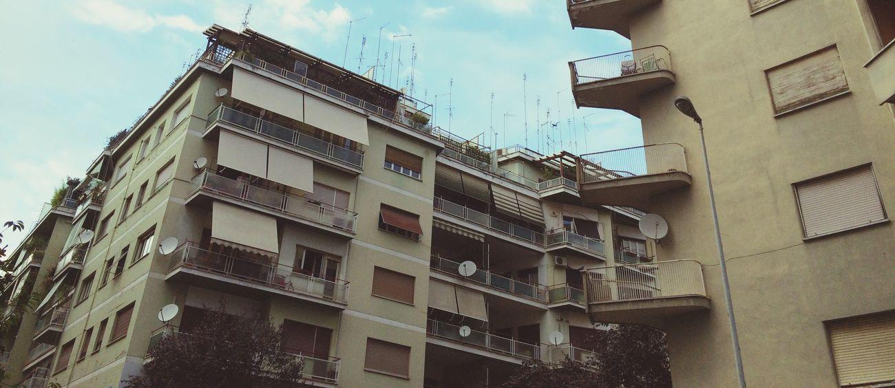 Roma Architecture Urban Geometry Traveling